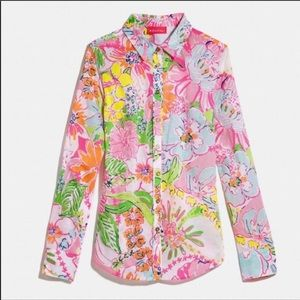 Lilly Pulitzer for Target Nosey Posey Top S